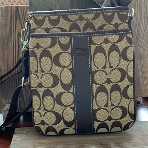 Coach swing pack adjustable crossbody- used